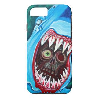 Shark Vs Zombie iPhone 7 Case