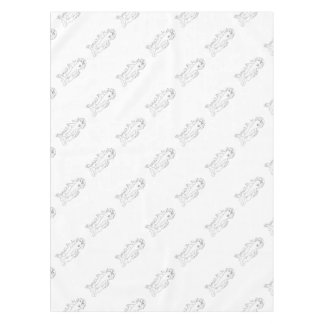 Shark Water Side Drawing Tablecloth