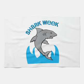 Shark Week Kitchen Towel