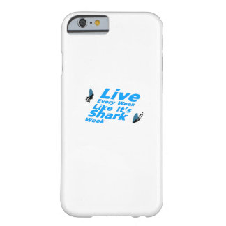 Shark Week  Sharks Funny Barely There iPhone 6 Case
