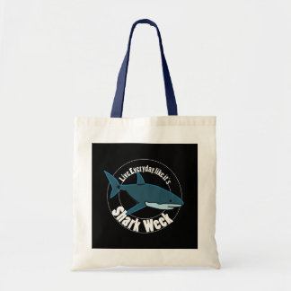 Shark week tote