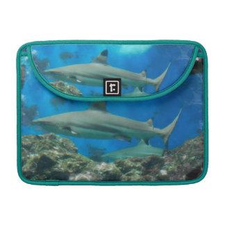 """Shark with Reef  13"""" MacBook Sleeve MacBook Pro Sleeves"""