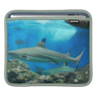 Shark with Reef  iPad Sleeve