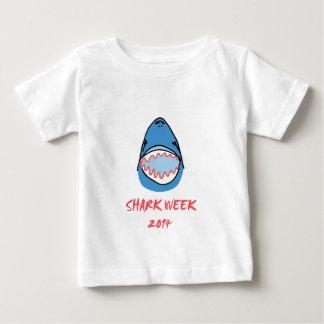 Sharkbite for Shark Week August 10-17 2014 in Blue T-shirt