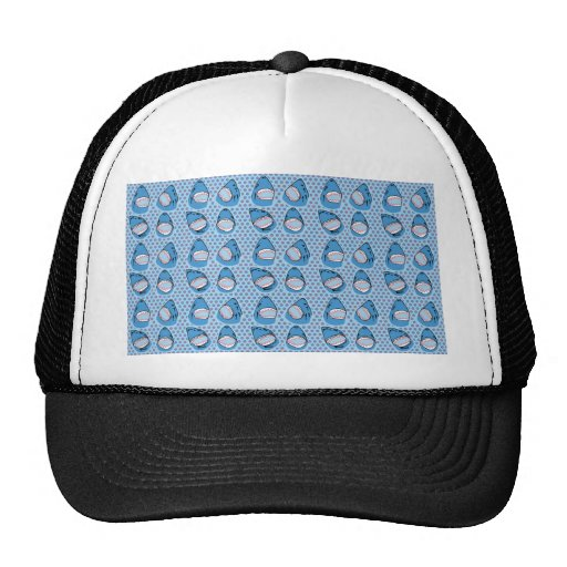 Sharkbite in Pacific Blue Mesh Hats