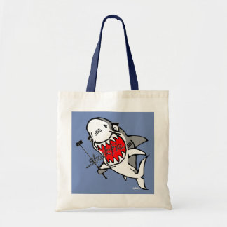 Sharkfie Tote Bag