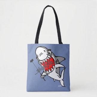 Sharkfie Tote Bag