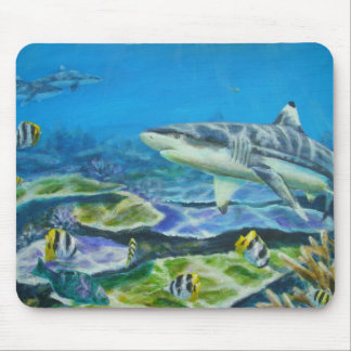 sharkfiji mouse pad