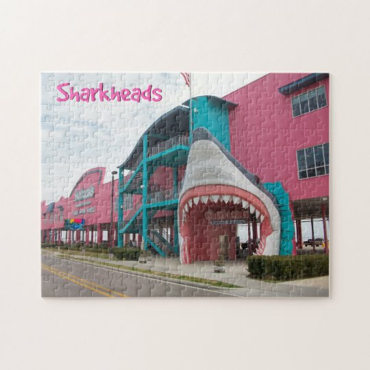 Sharkheads Biloxi Beach Puzzle