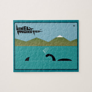 Sharkhunter Lonely Monster Jigsaw Puzzle
