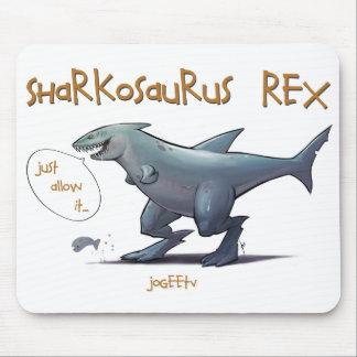 Sharkosaurus REX Mousepads