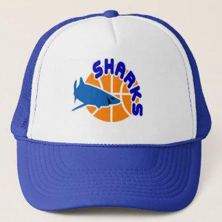 Sharks Basketball Cap