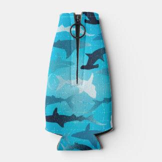 sharks! bottle cooler