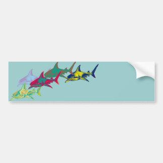 Sharks Bumper Sticker