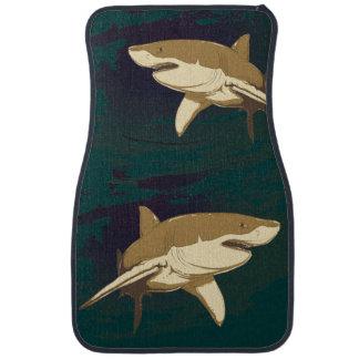 Sharks Car Mat