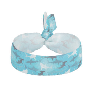 sharks! hair tie