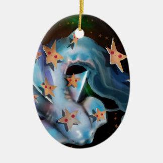 Sharks-Hammerhead Ceramic Ornament