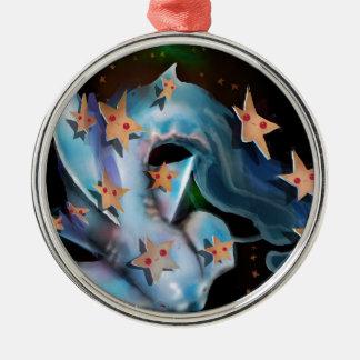 Sharks-Hammerhead Metal Ornament