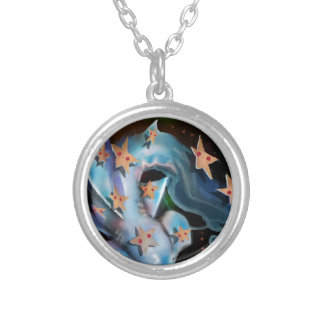 Sharks-Hammerhead Silver Plated Necklace