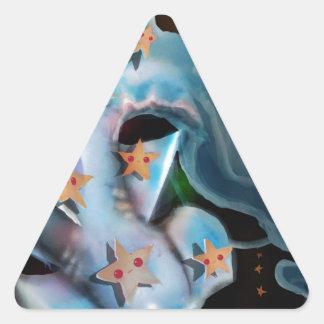 Sharks-Hammerhead Triangle Sticker