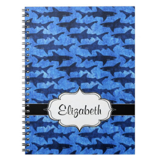 Sharks in the Deep Blue Sea Notebooks