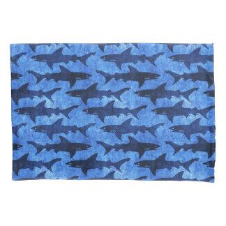 Sharks in the Deep Blue Sea Pillowcase