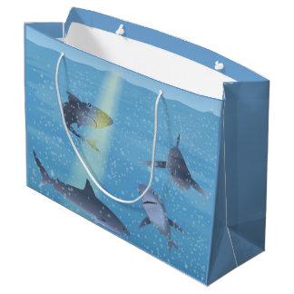 Sharks Large Gift Bag