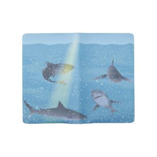 Sharks Large Moleskine Notebook