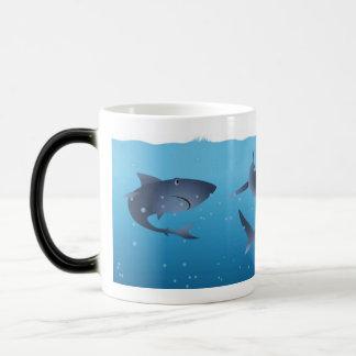Sharks Magic Mug