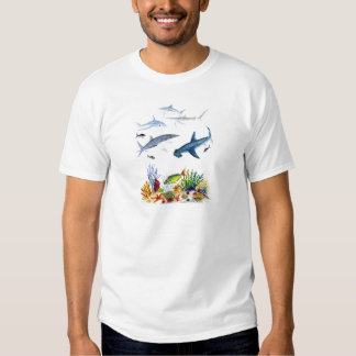 Sharks on the reef shirt