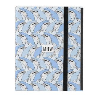Sharks Pattern custom monogram device cases