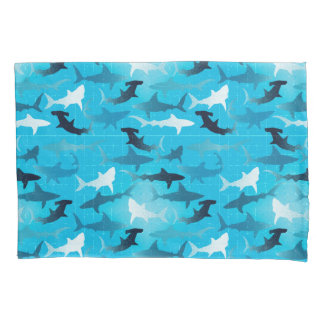 sharks! pillowcase