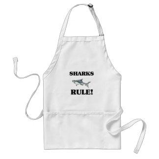 SHARKS Rule! Standard Apron