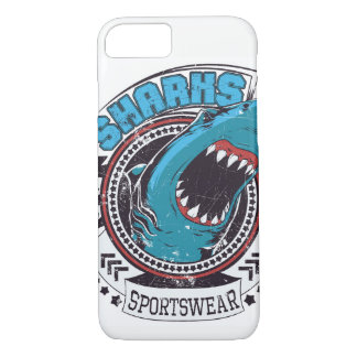 Sharks Sportswear Glossy Phone Case