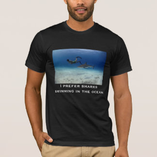 Sharks Swimming T-Shirt