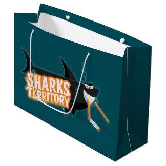 Sharks Territory - Large Gift Bag