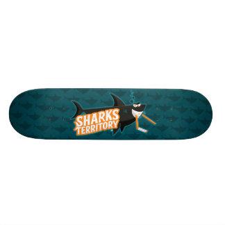 Sharks Territory - Skateboard