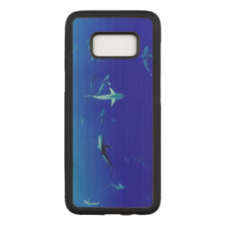 Sharks Underwater Carved Samsung Galaxy S8 Case