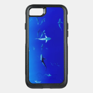 Sharks Underwater OtterBox Commuter iPhone 8/7 Case