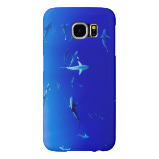 Sharks Underwater Samsung Galaxy S6 Cases