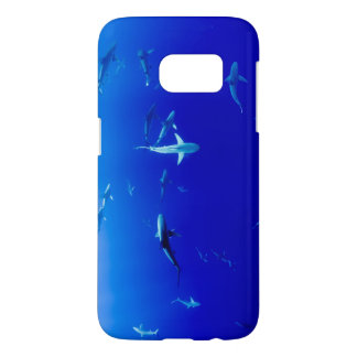 Sharks Underwater Samsung Galaxy S7 Case