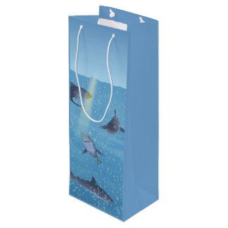 Sharks Wine Gift Bag