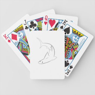 Sharky Friend Bicycle Playing Cards