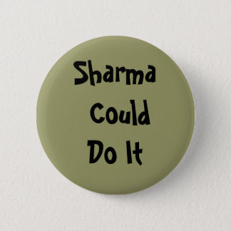Sharma Could Do It Rock Climbing Button