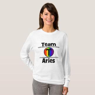 Sharnia Aries Long Sleeve Top (Rainbow)