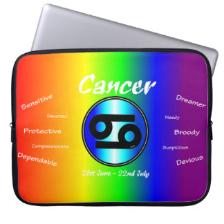 Sharnia Cancer Laptop Sleeve (Rainbow)