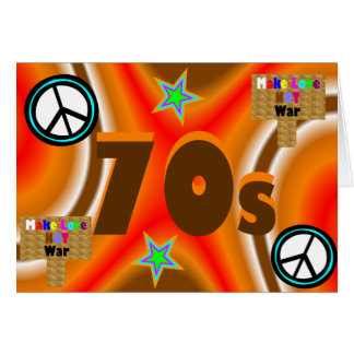 Sharnia's '70s' Greeting Card