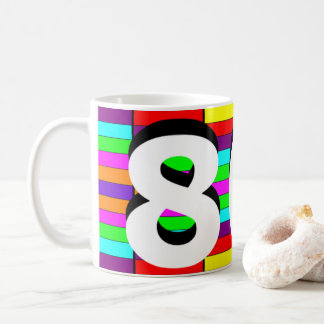 Sharnia's '80s Coloured Background' Mug