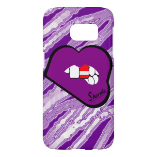 Sharnia's Lips Austria Mobile Phone Case (Pu Lips)
