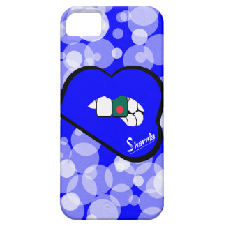 Sharnia's Lips Bangladesh Mobile Phone Case Blu Lp